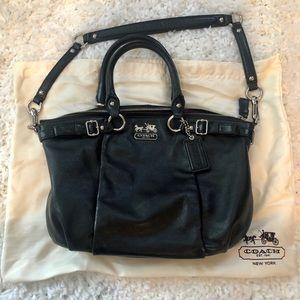 Beautiful Black Coach Bag